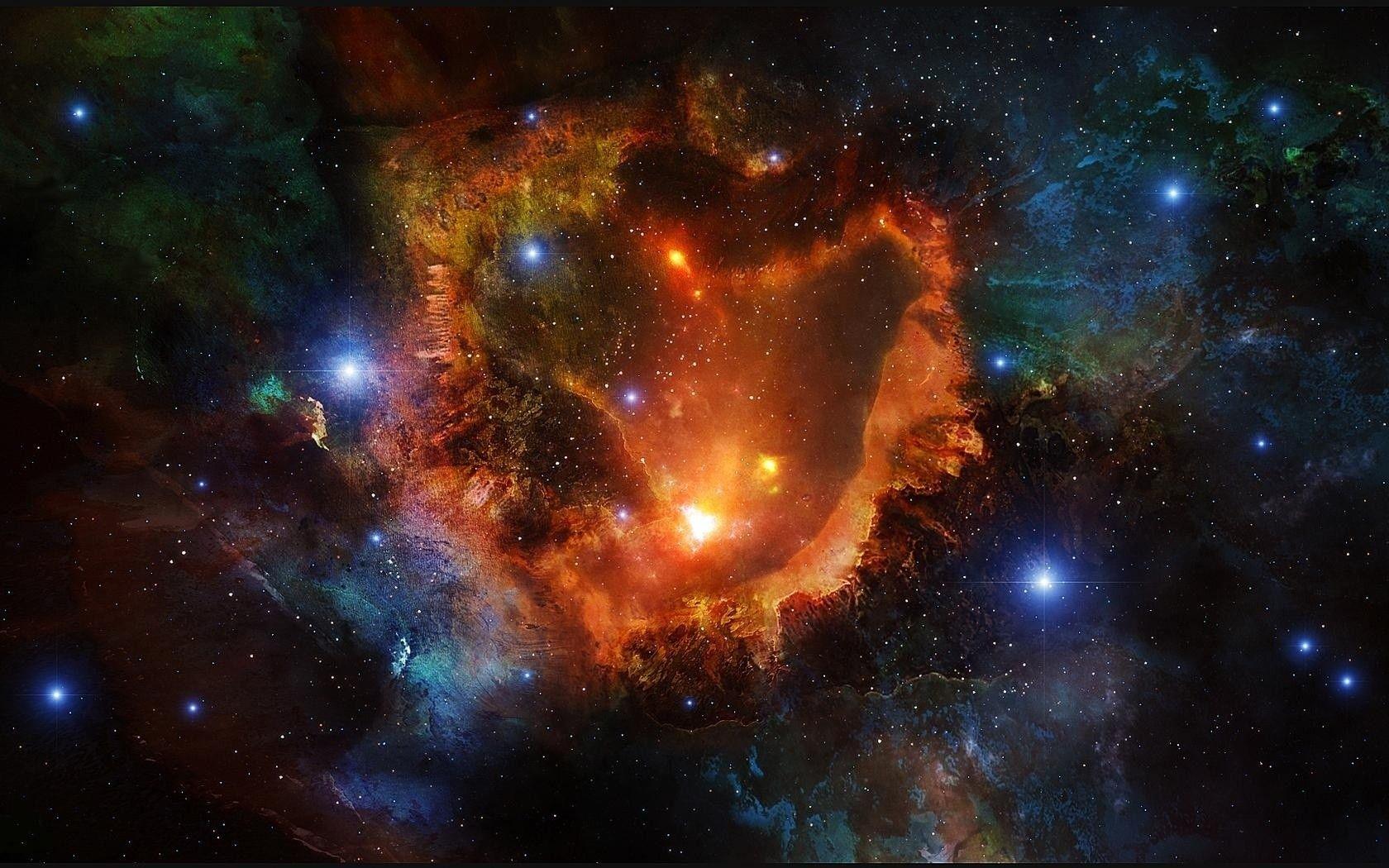 Space Wonder iPad Wallpaper And