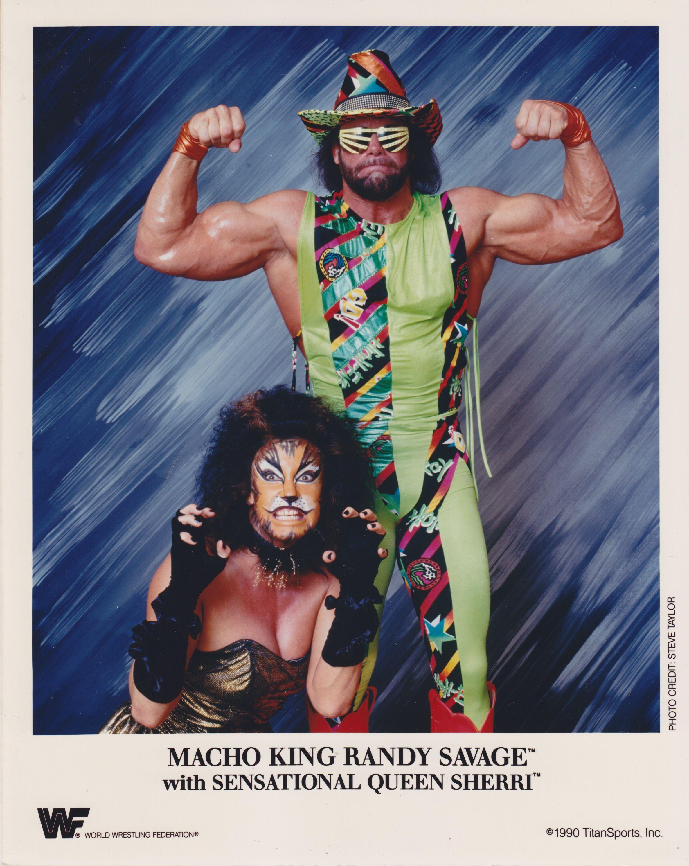 نتيجة بحث الصور عن wwe randy savage 1990