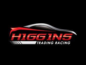 Higgins Trading Racing logo design - A polished design good for ...