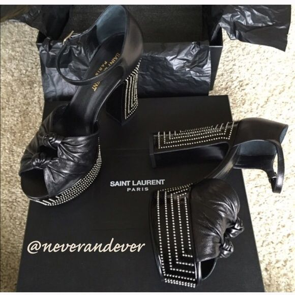 2ef82760040 FINAL PRICE-Yves Saint Laurent Candy Platform 38 Absolutely breathtaking  heels from YSL. Includes original box and dustbag. Bought and never wore -  they're ...