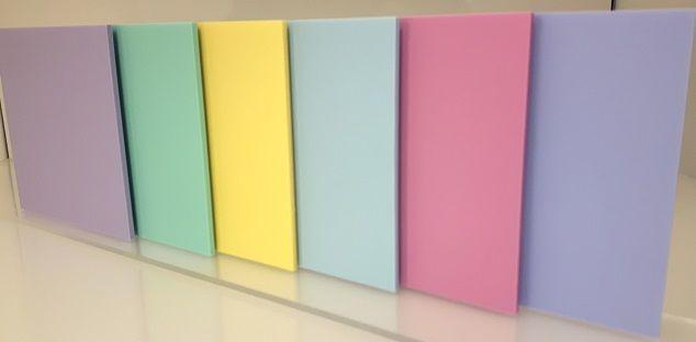Perspex Sweet Pastel Coloured Acrylic Sheet 3mm Thick Gloss Matte Finish Ebay Acrylic Plastic Sheets Colored Acrylic Sheets Plastic Sheets