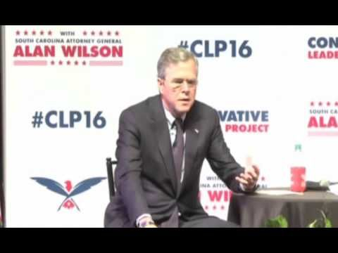 Jeb Bush Stuff Happens Quote And Tries To Polish It Way With Things Happen All The Time! 10-02-15 - YouTube