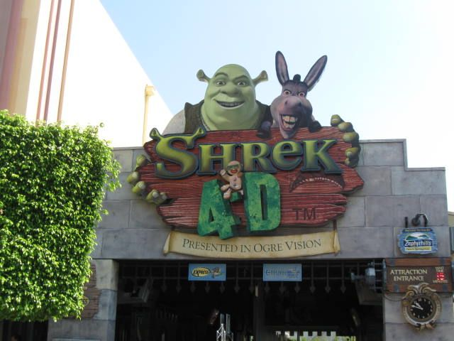 Shrek 4 D Orlando Vacations Now Universal Studios Orlando Universal Studios Shrek