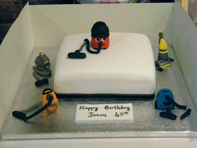 Vacuum Cleaner Cake By Eldriva Via Flickr Cakes In 2019