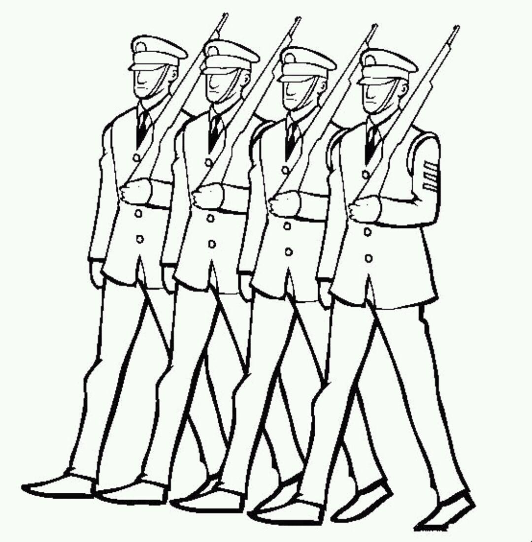 иллюстрации к военному маршу попов