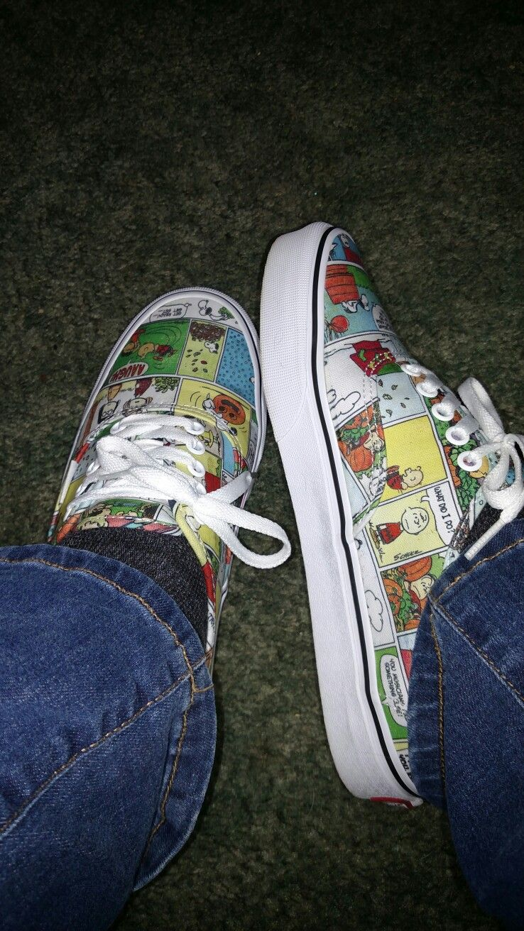 aa7f95ed98 Vans finally made comic strip Snoopy shoes 2018