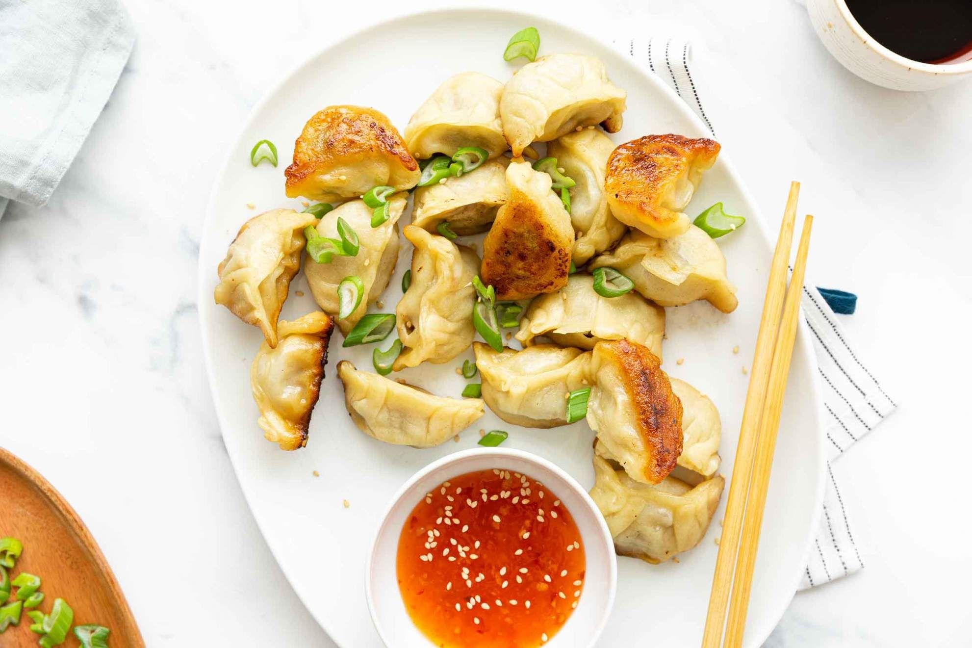 Gyoza Dumplings with Ground Turkey