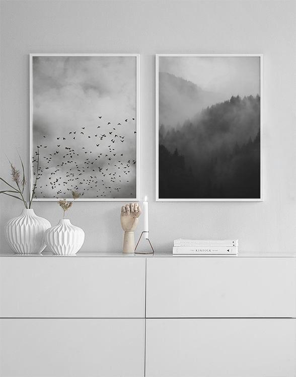 in der Gruppe Inspiration / Schwarz und Weiß bei Desenio AB (insp8264) #deseniobilderwandwohnzimmer