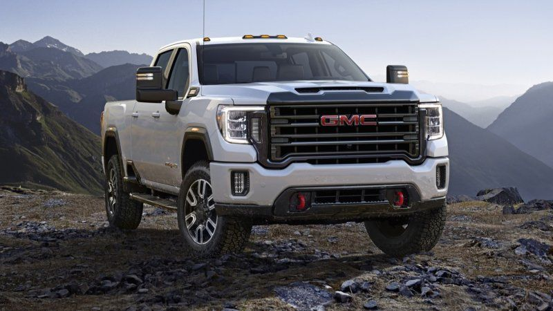 2020 Gmc Sierra Hd Pickup Truck Revealed Gmc 2500 Gmc Trucks Gmc