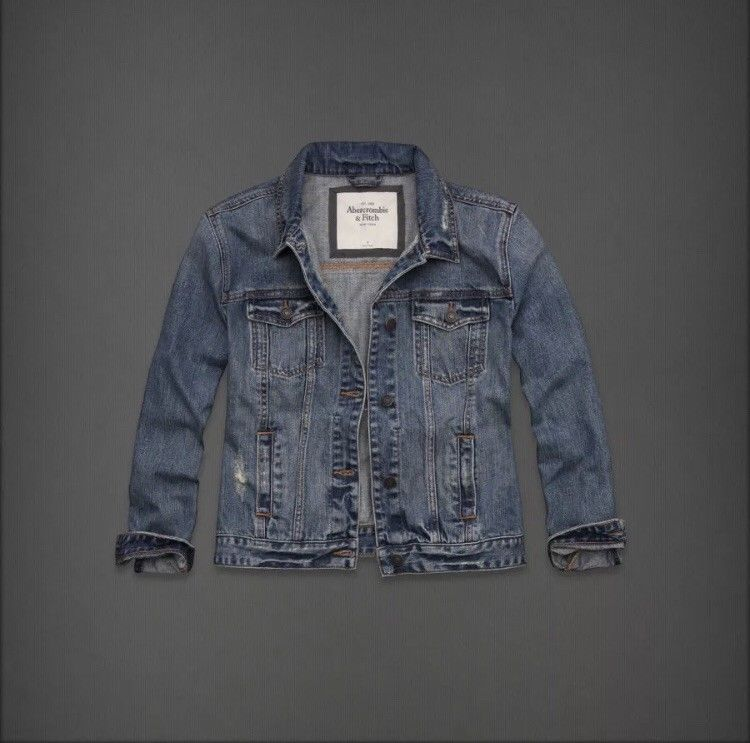 abercrombie and fitch womens denim jacket