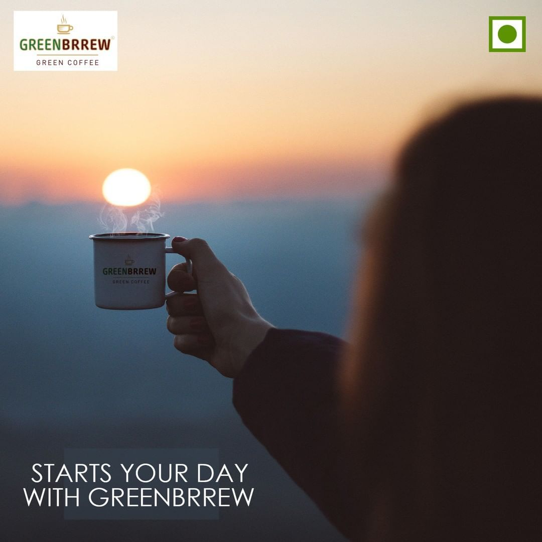 Starts Your Day With @GreenBrrew Green Coffee