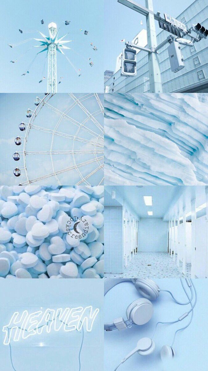 Cute Baby Blue Aesthetic Wallpapers