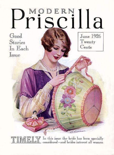 Modern Priscilla Magazine, July 1916   Vintage magazines