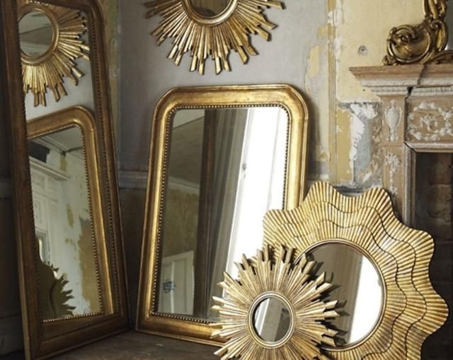 Living Room Mirrors Gold Mirror Garden Home Office Decor Cure For Start With Feng Shui