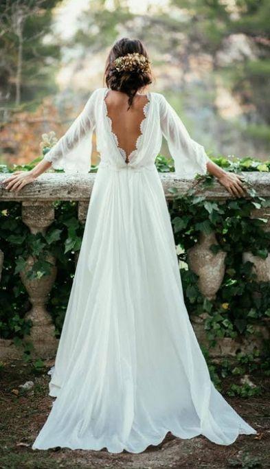 A-line Wedding Dresses, Ivory A-line/Princess Wedding Dresses ...