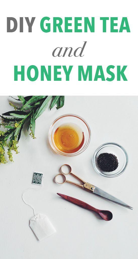 Homemade Green Tea and Honey Mask - refreshing way to start the work ...