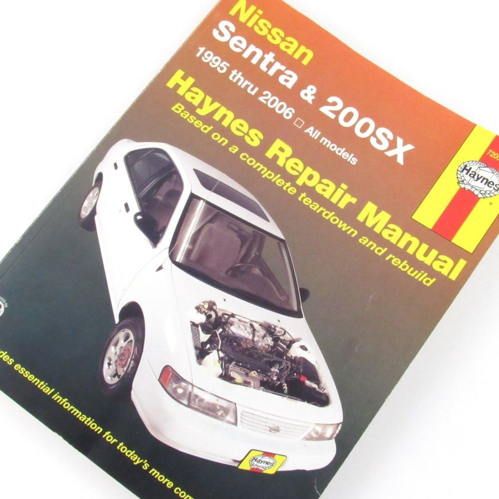 2006 nissan sentra haynes repair manual
