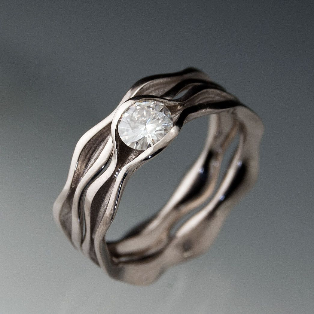 Love This Design It Is Simple But Beautiful Totally My Flav Moissanite Oval Engagement Ringspalladium