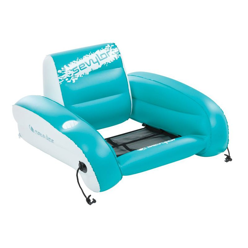 Sevylor Coleman Water Lounger Chair Inflatable Beach Chairs Inflatable Chair Pool Lounge Chairs