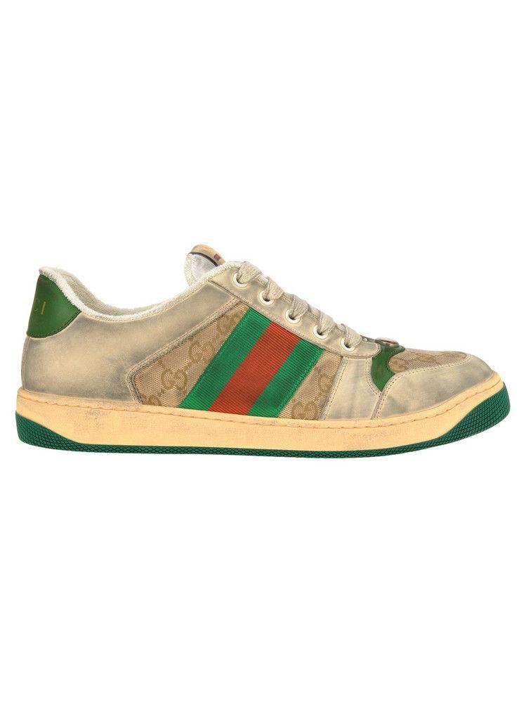 Gucci Virtus Gg New Sneaker in green