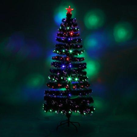 Holiday Festival Indoor Four LED Color Changing LED Fiber Optic