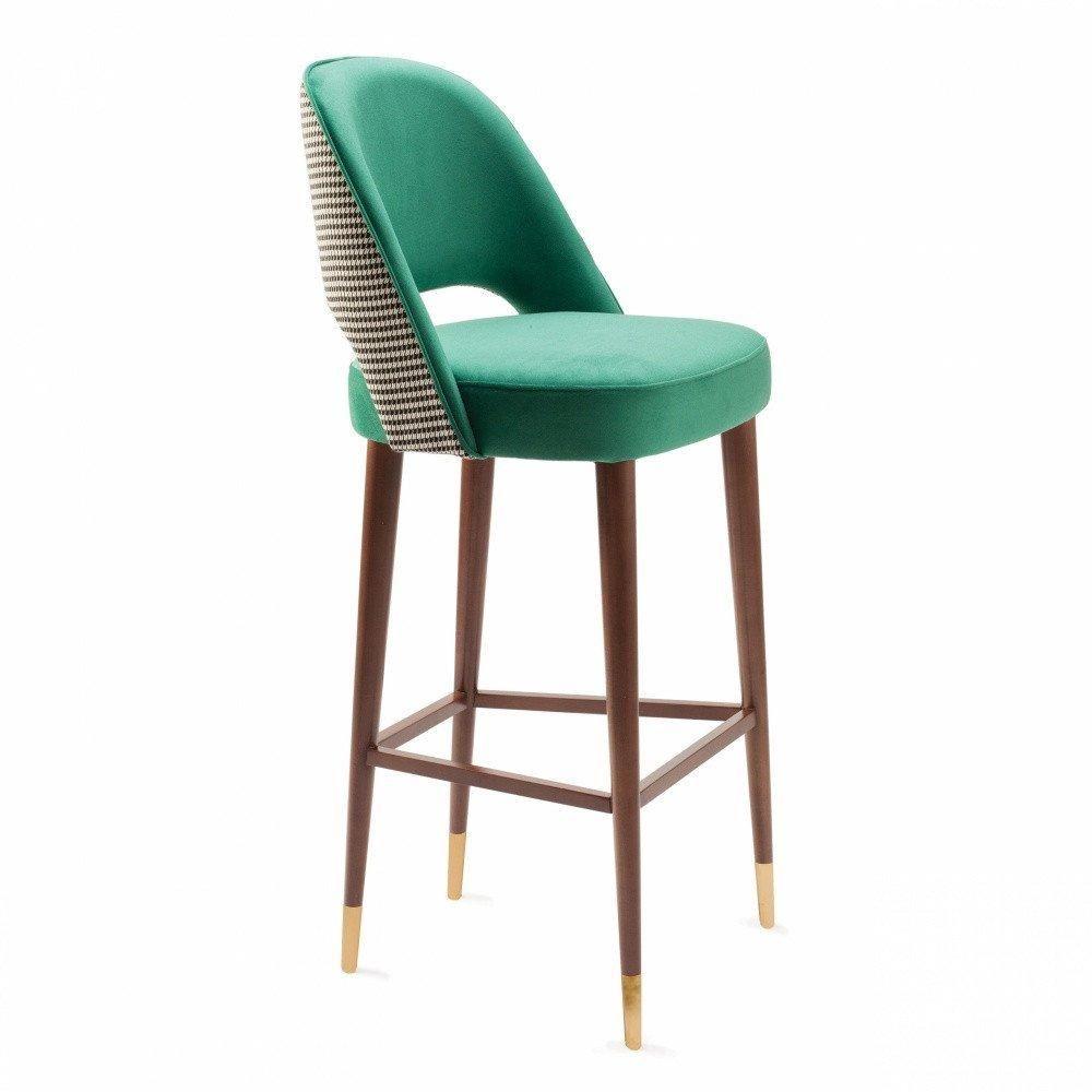 Swell Ava High Stool Furniture Chairs Upholstered Bar Stools Short Links Chair Design For Home Short Linksinfo