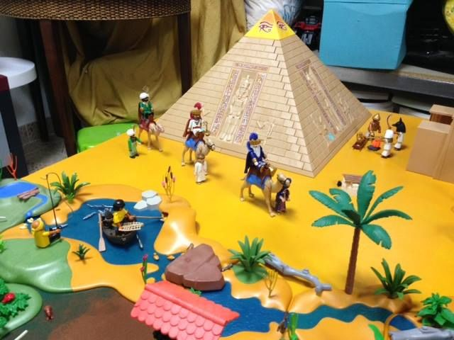 Escena Reyes Magos Belen Playmobil
