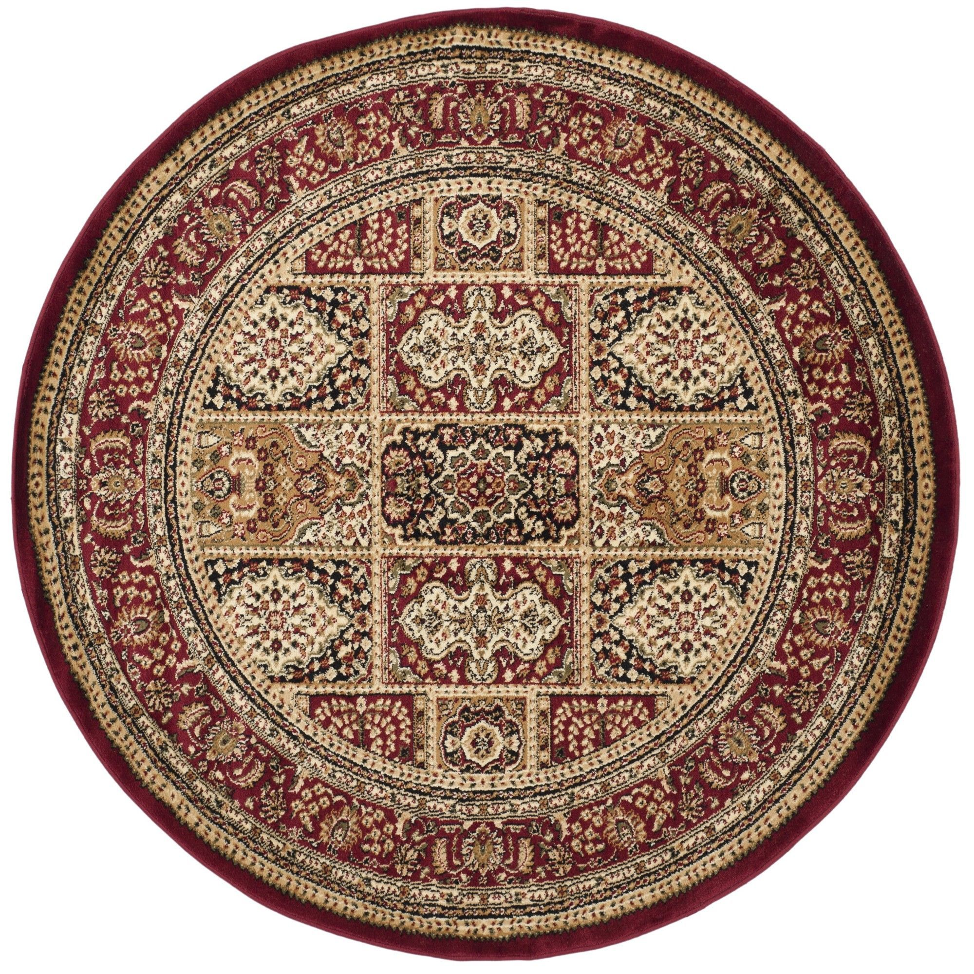 Lyndhurst red area rug products pinterest throw rugs and products