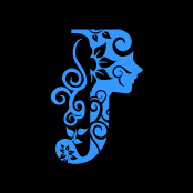 Flower Clipart Blue Alphabet J With Black Background Download Free Flower Clipart Designs Gallery Web Arts Graphics Images A Ornamente Kreativ Lettern