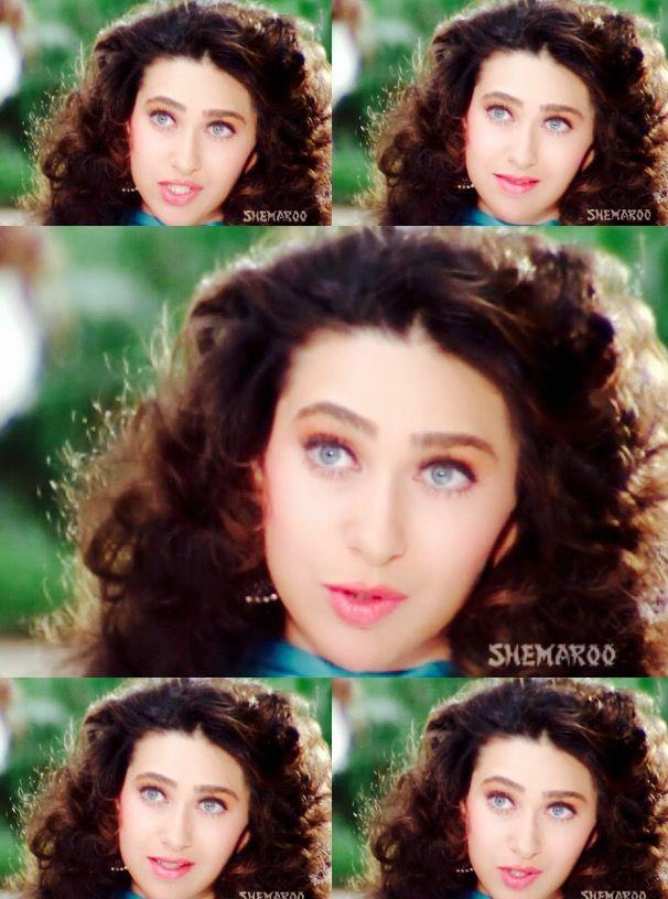 Karisma Kapoor In Jeet Bollywood Makeup Karisma Kapoor Bollywood Actress