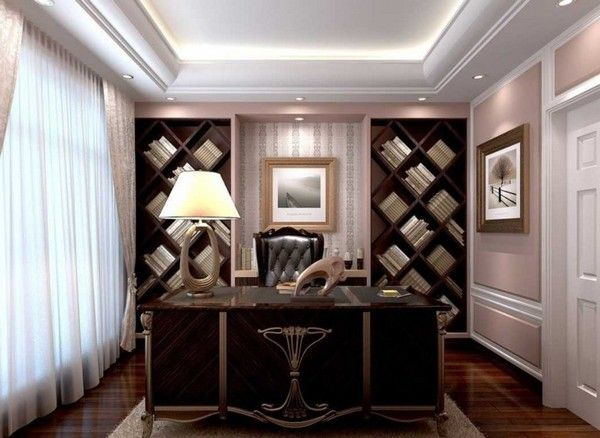 Lovely Study Room Designs Pictures