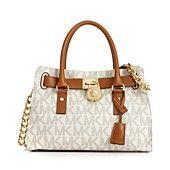 Michael Kors Hamilton Signature Satchel Handbags Accessories Macy S