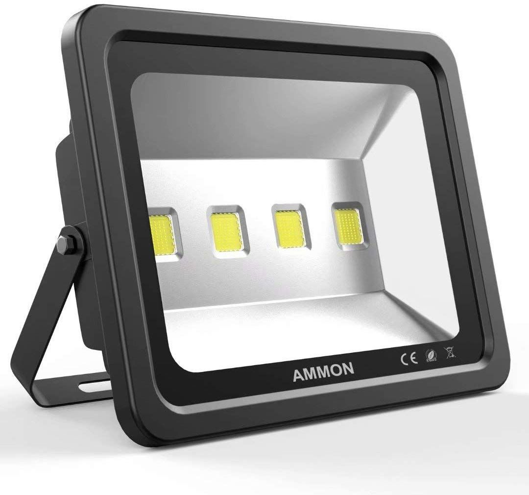 Ammon Led Flood Light 200w Outdoor Waterproof Ip65 20000lm Super Bright Flood Lamp Cool White 6 Led Flood Lights Outdoor Flood Lights Led Outdoor Flood Lights
