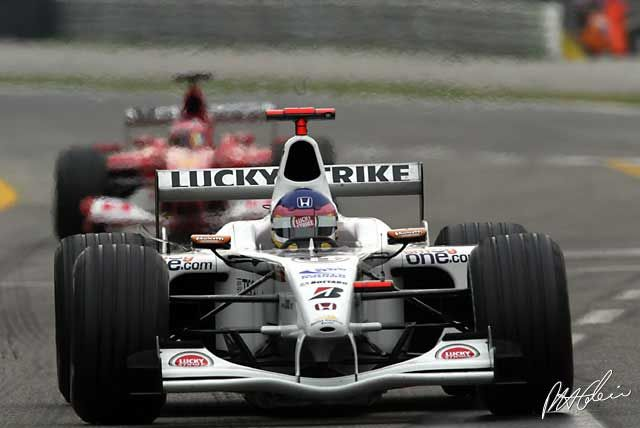 jacques villeneuve 2002   Jacques Villeneuve, Italian GP 2002