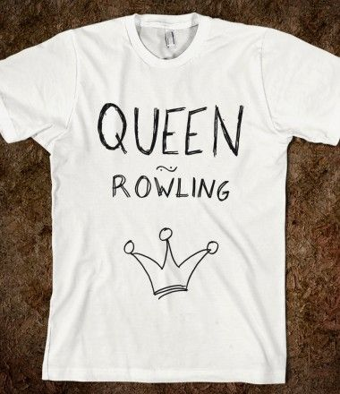 Queen Rowling. I'd dye the white one, don't know which color yet though.