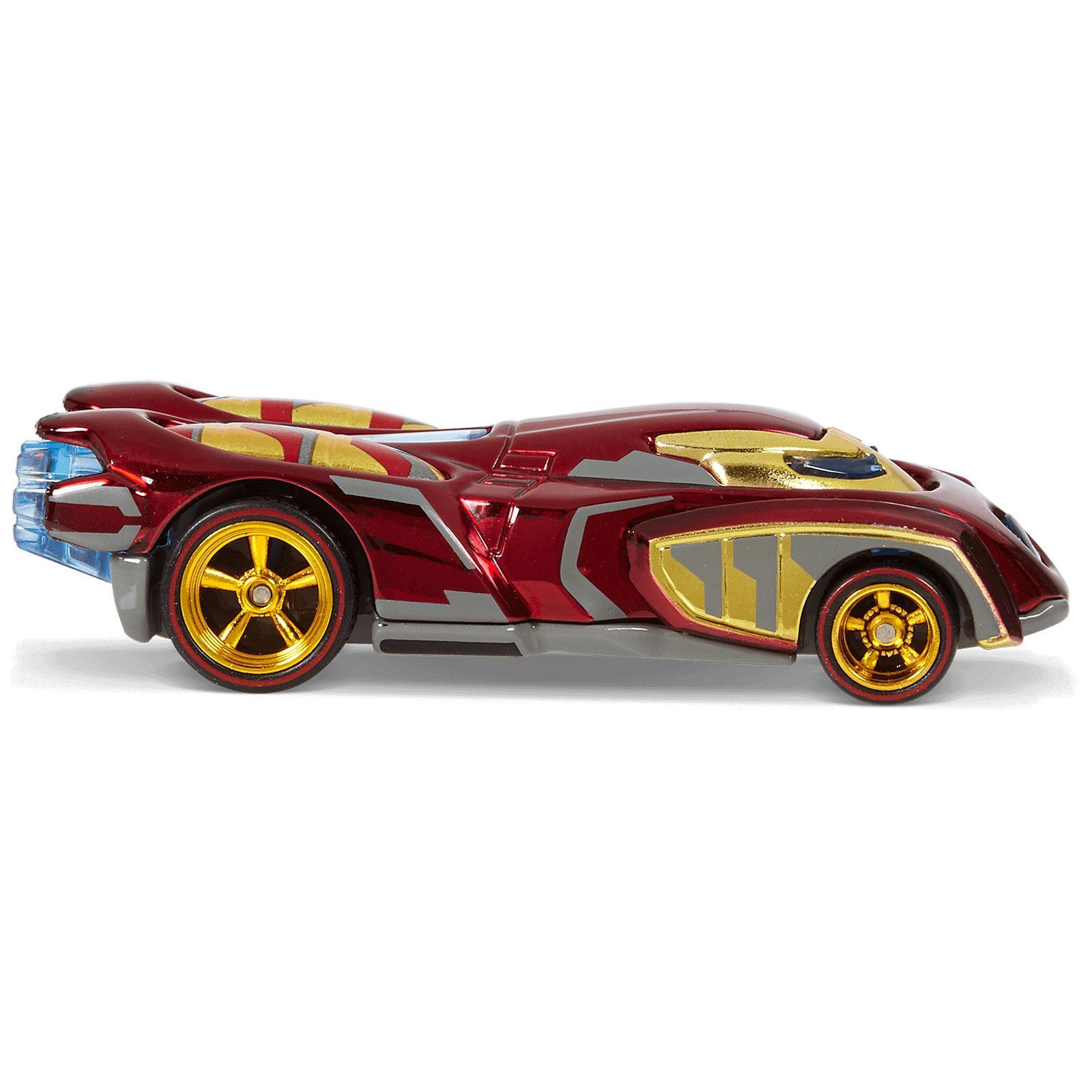 Hot Wheels® Marvel™ Civil War Iron Man /& Falcon Character Car Two Pack