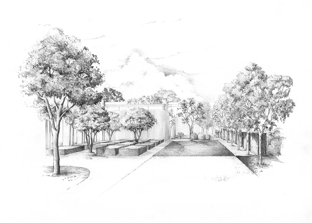 Garden design by luciano giubbilei 2013 illustration by for Landscape plan drawing