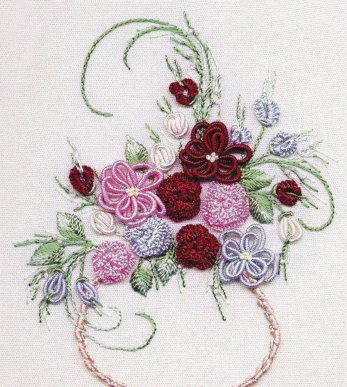 Бразильская объемная вышивка  #embroidery