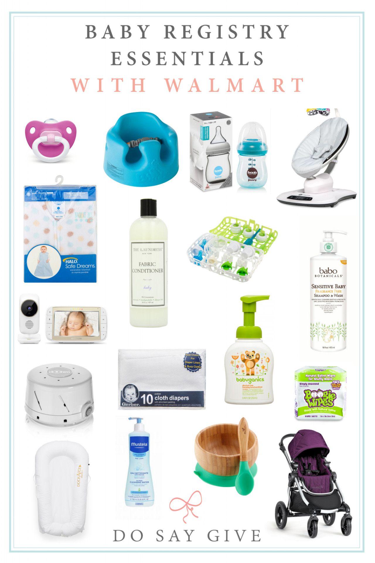 Baby Registry Essentials (at Walmart!) | Walmart baby ...