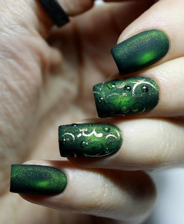 70 Square Nail Art Ideas | Esmalte