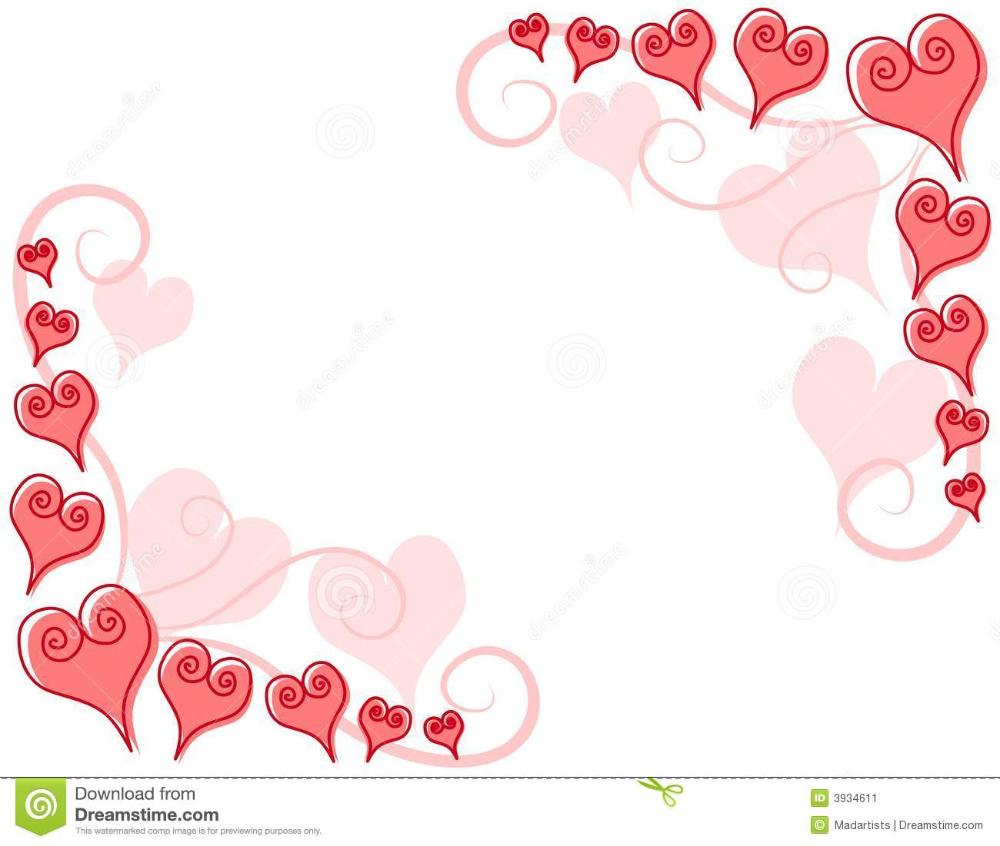 Heart Corner Border Designs Google Search Pink Heart Red Ornaments Corner Borders