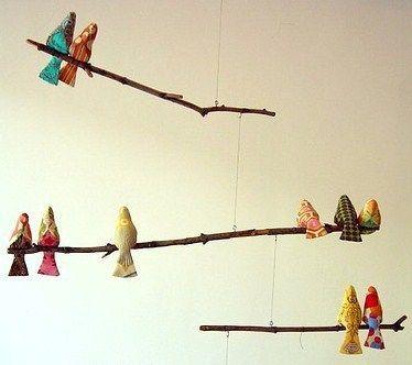 faire un oiseau en tissu les tutos d coration. Black Bedroom Furniture Sets. Home Design Ideas