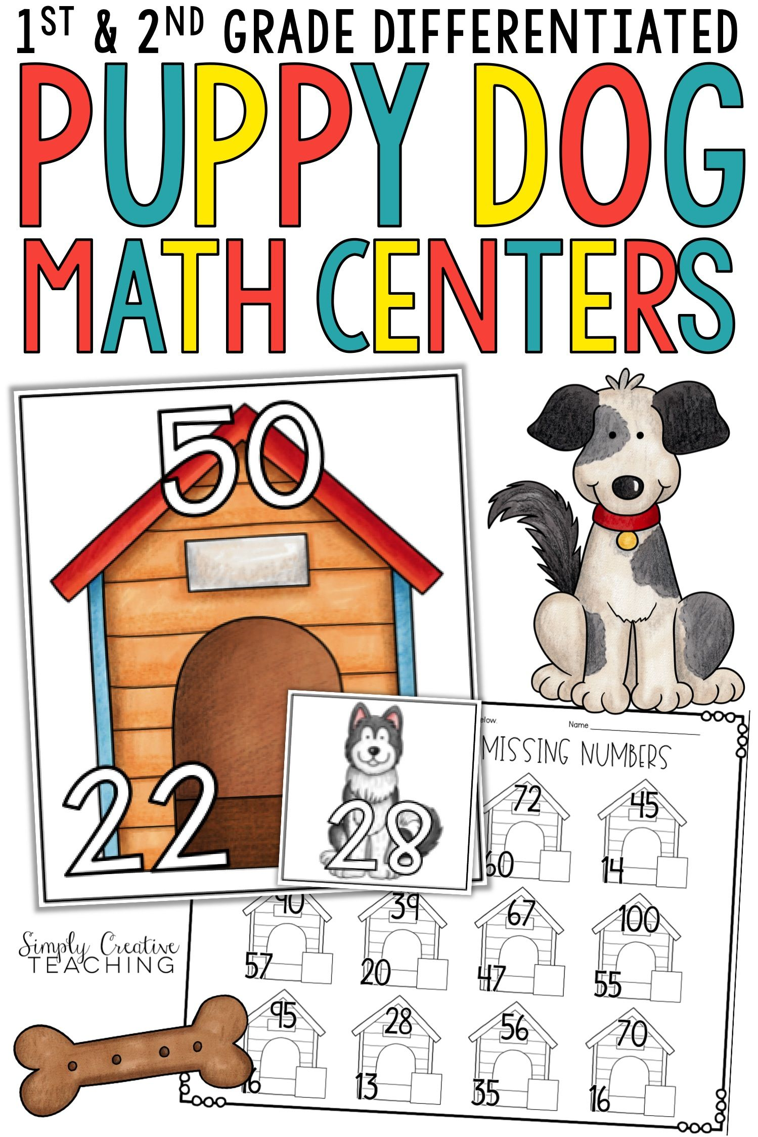 Differentiated Math Centers For 1st Amp 2nd Grade