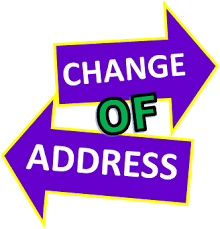 Reasons Why People Change Their Address In The United States Change Of Address Change Your Address People Change