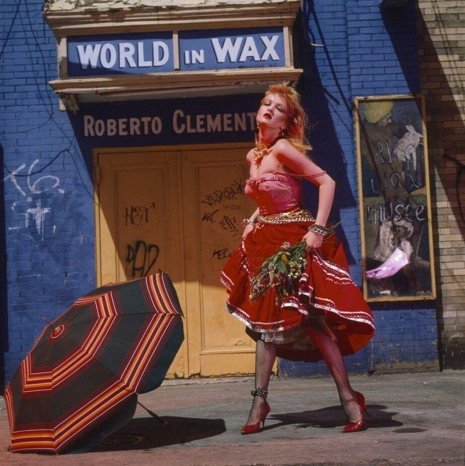 Cyndi Lauper photographed by Annie Leibovitz, 1983