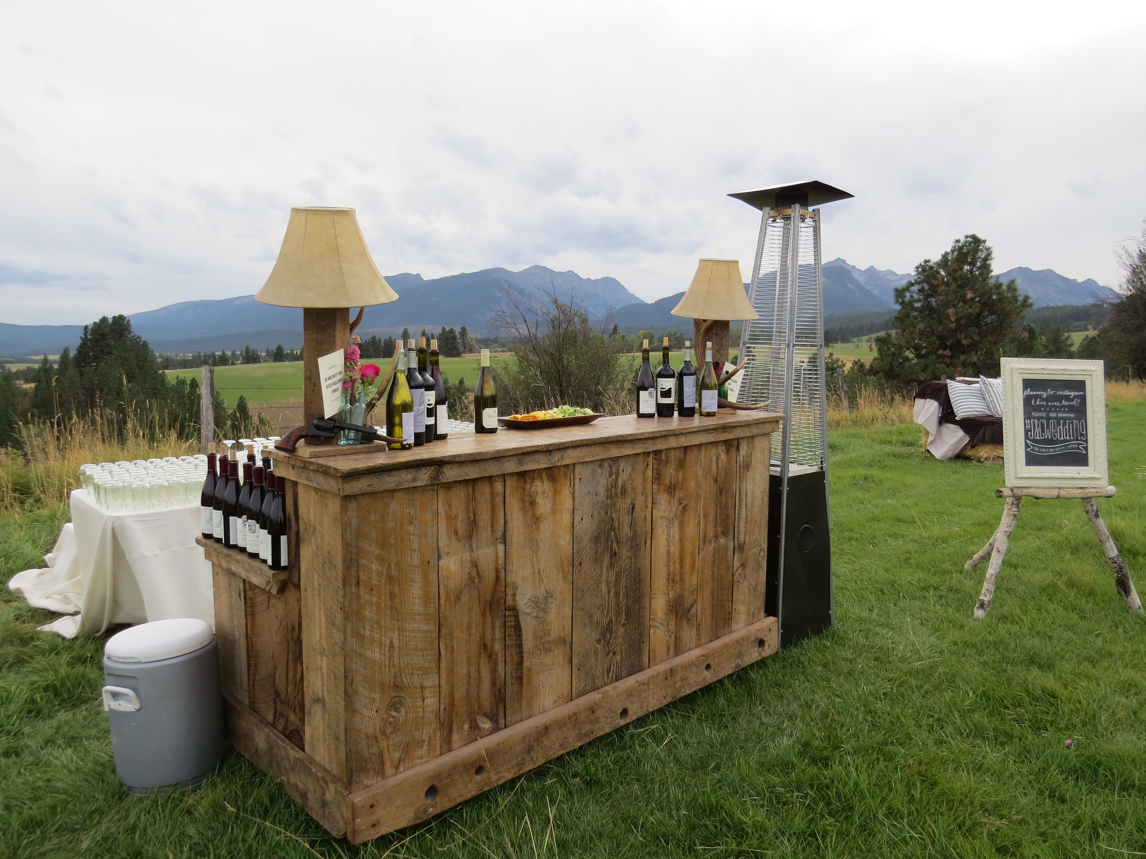Superior Rustic Wood Bar   Google Search