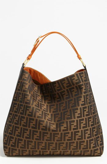Fendi Zucca Hobo With Images