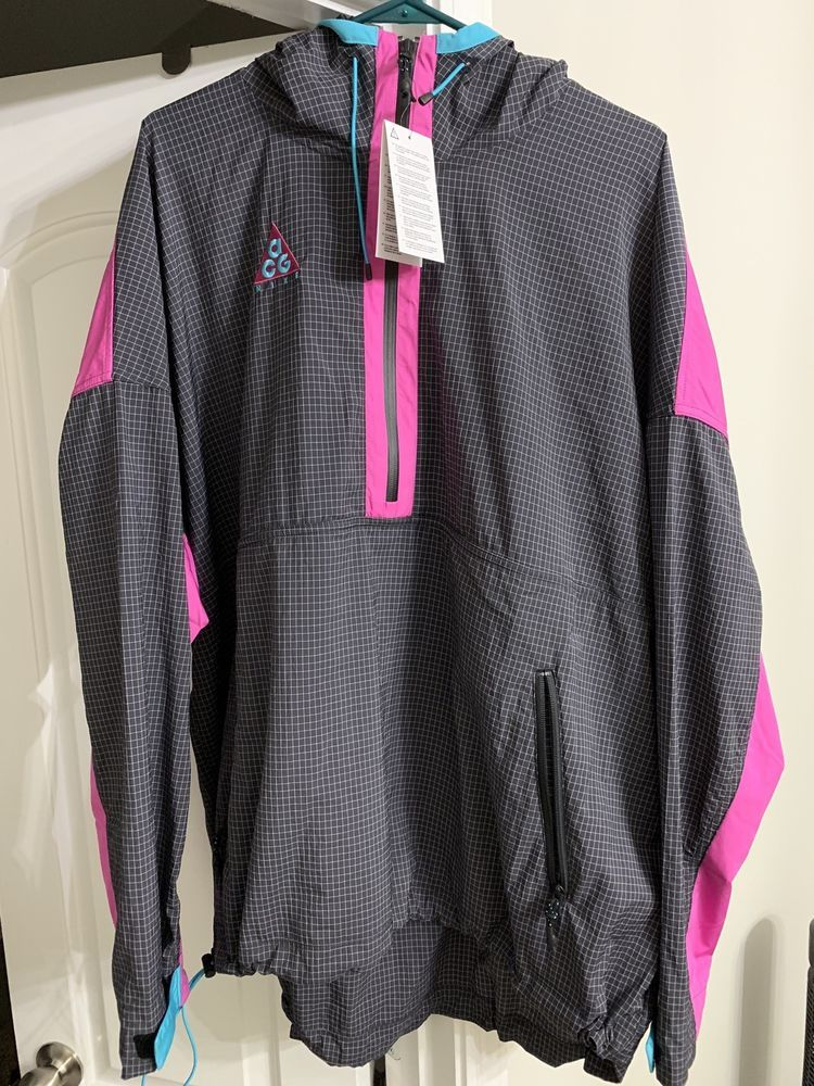 46294c6c0a57 Nike ACG 2018 Hooded Jacket Anthracite Magenta Teal 931907 060 Men s XL NWT   fashion  clothing  shoes  accessories  mensclothing  coatsjackets (ebay  link)