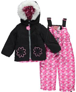 "20a5cf7c1 Kensie Baby Girls' ""Mountain Bloom"" 2-Piece Snowsuit - CookiesKids.com"