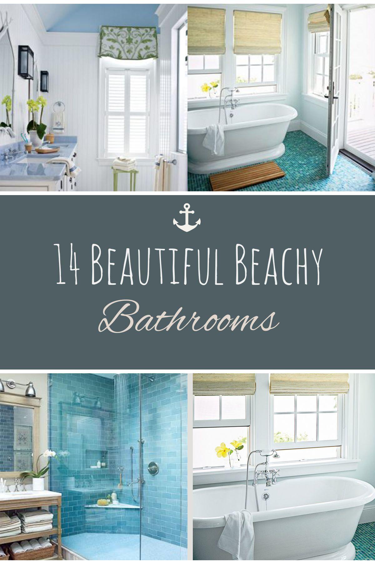 Beach Themed Decor Beach Themed Home Decor Beachy Bathrooms DIY